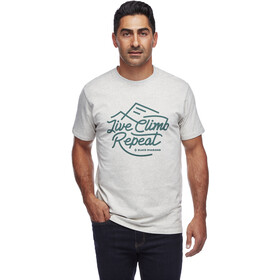 Black Diamond Live Climb Repeat T-shirt Heren, birch heather